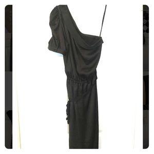 Marc Jacobs silky soft sateen black dress
